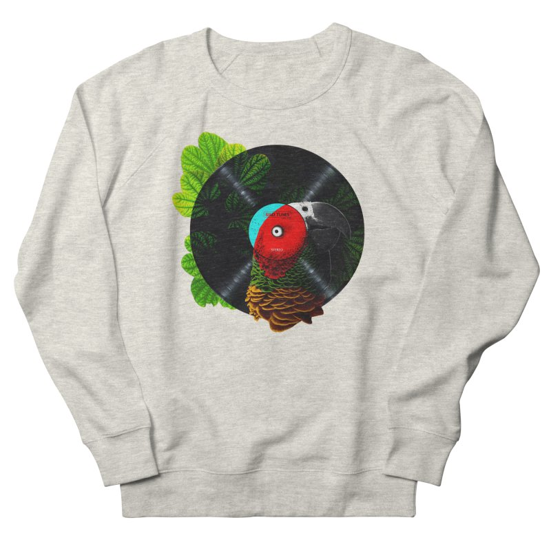 Bird Tunes Men's French Terry Sweatshirt by DavidBS