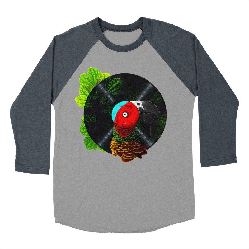 Bird Tunes Men's Baseball Triblend Longsleeve T-Shirt by DavidBS