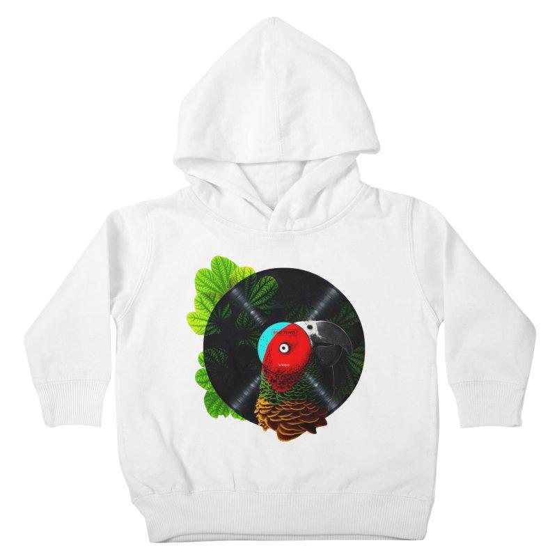 Bird Tunes Kids Toddler Pullover Hoody by DavidBS