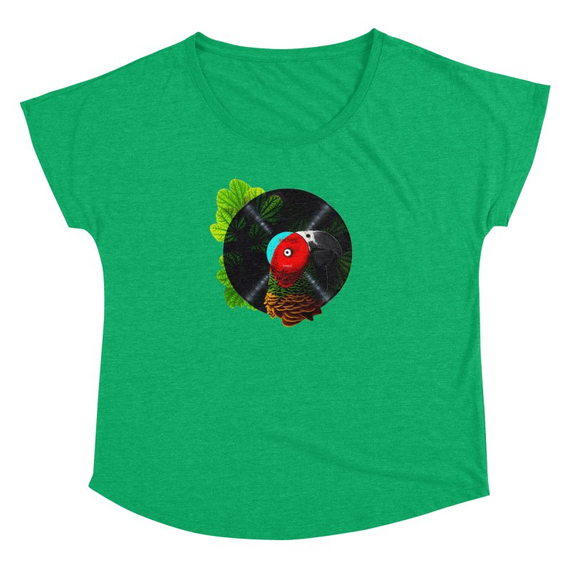 Bird Tunes Women's Dolman by DavidBS