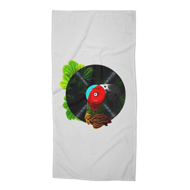 Bird Tunes Accessories Beach Towel by DavidBS