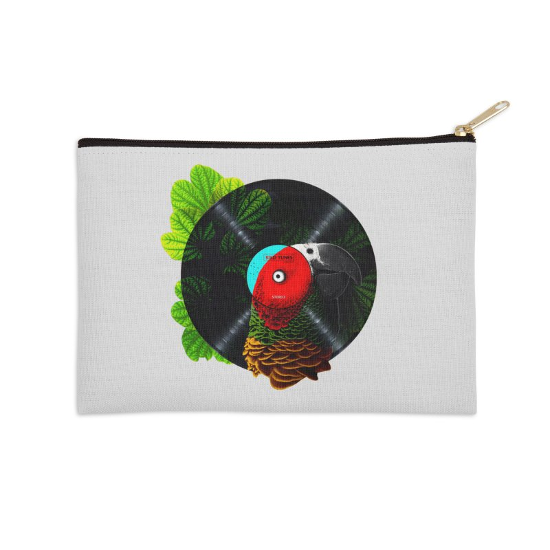 Bird Tunes Accessories Zip Pouch by DavidBS