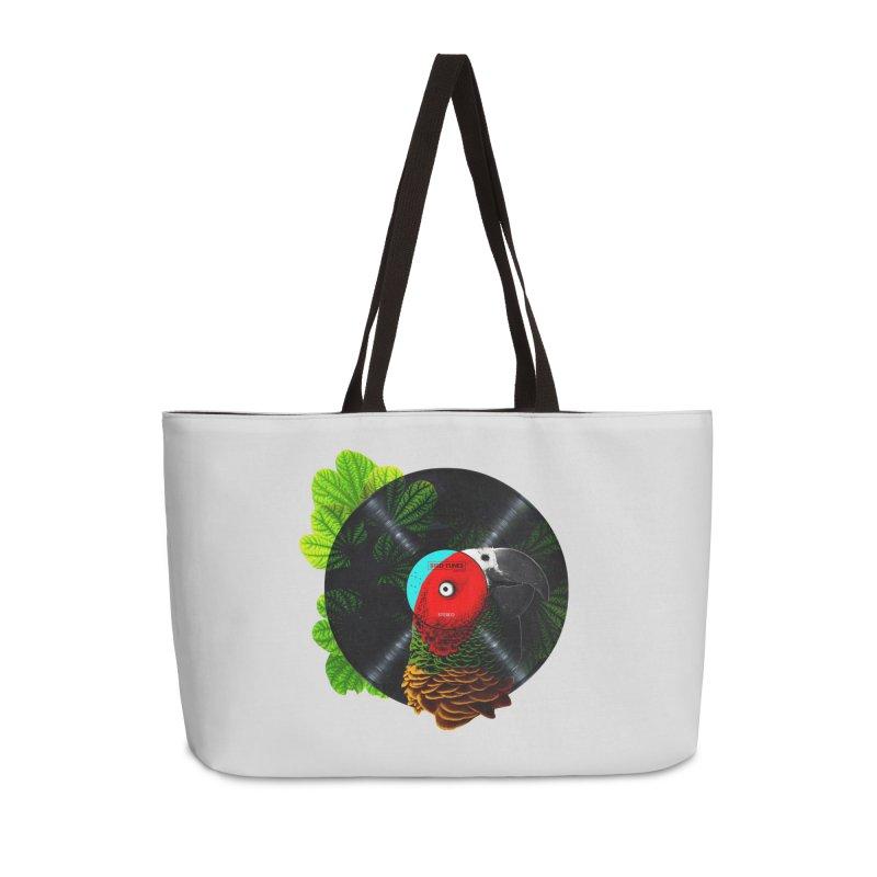 Bird Tunes Accessories Weekender Bag Bag by DavidBS