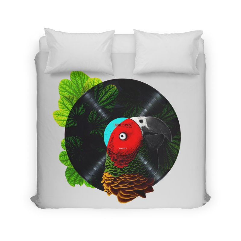 Bird Tunes Home Duvet by DavidBS