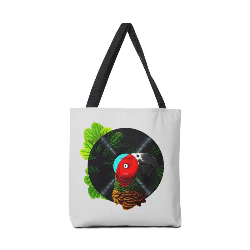 Bird Tunes Accessories Bag by DavidBS