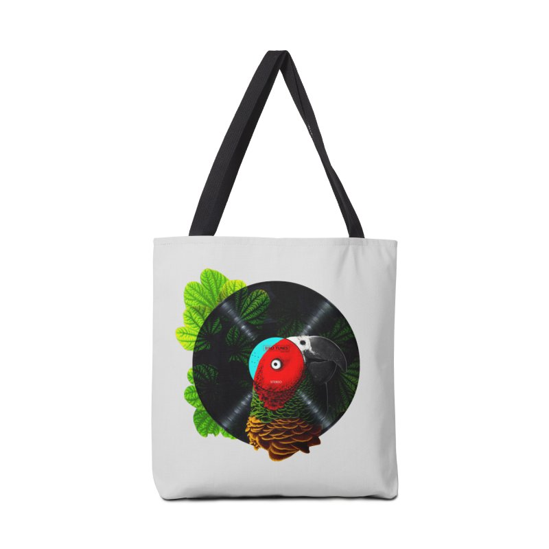 Bird Tunes Accessories Tote Bag Bag by DavidBS