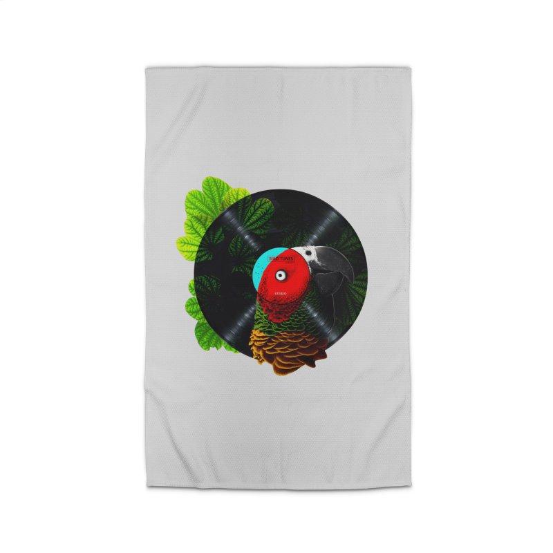 Bird Tunes Home Rug by DavidBS