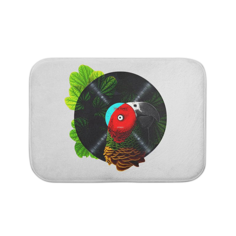 Bird Tunes Home Bath Mat by DavidBS