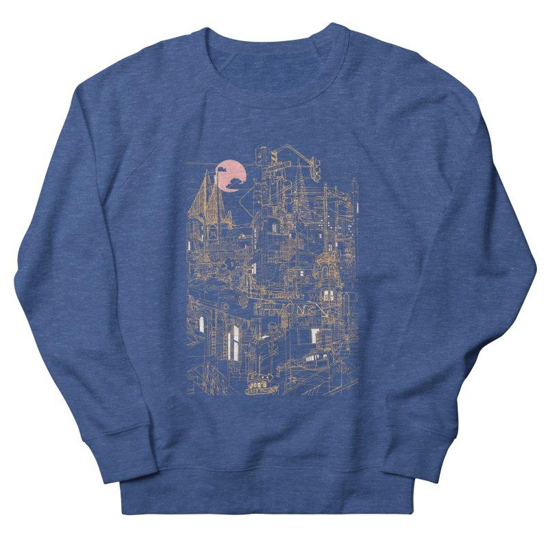 San Francisco! (Night) Women's Sweatshirt by David Bushell Illustration-Design Shop