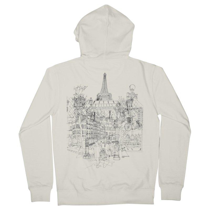 Paris!   by David Bushell Illustration-Design Shop