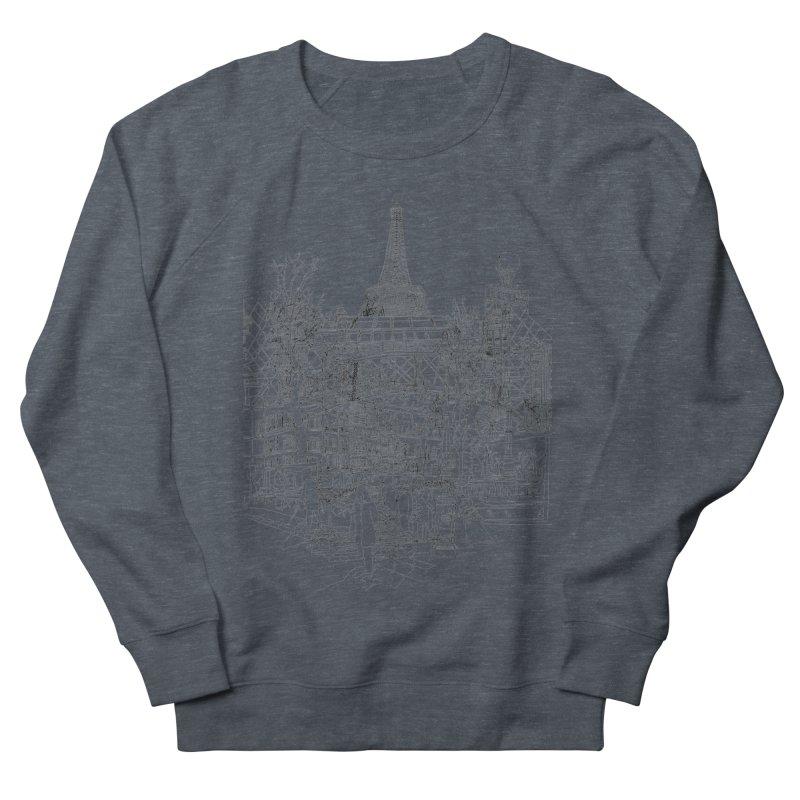 Paris! Women's Sweatshirt by David Bushell Illustration-Design Shop