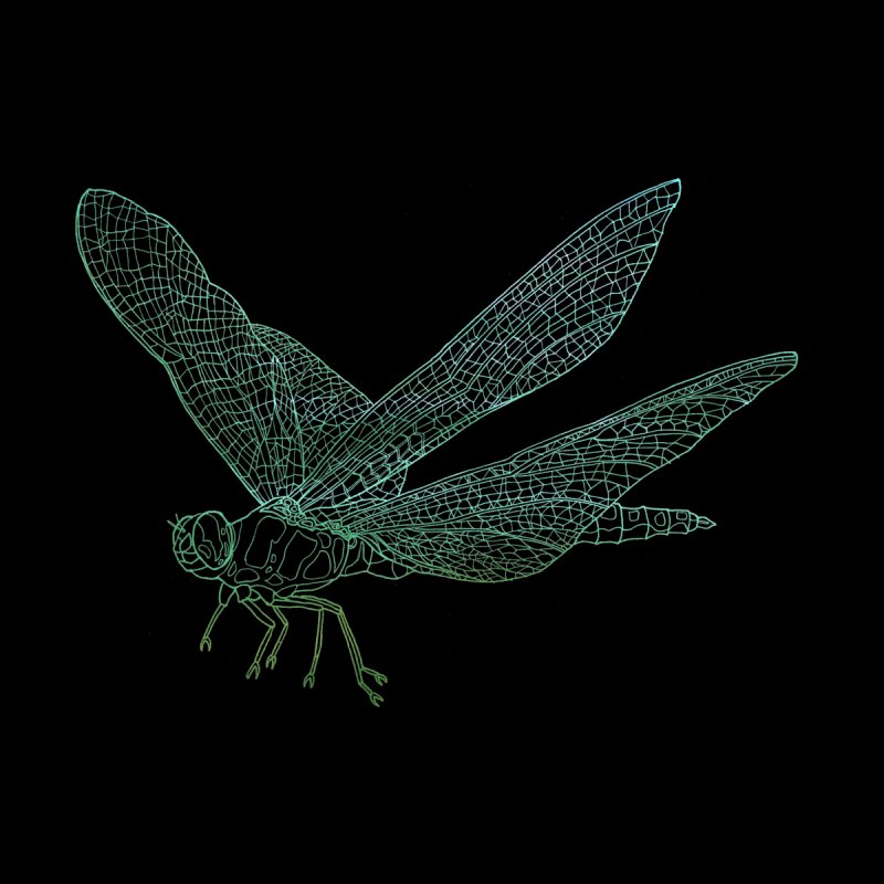 Dragonfly by David Bushell Illustration-Design Shop