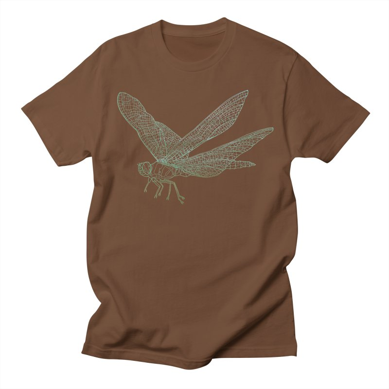 Dragonfly Men's T-shirt by David Bushell Illustration-Design Shop