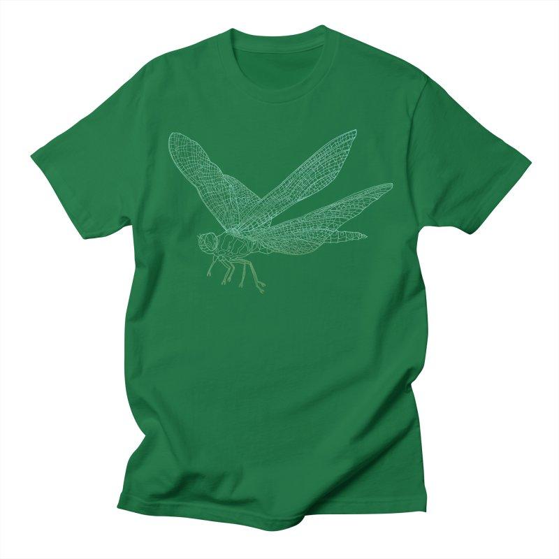Dragonfly Men's T-Shirt by David Bushell Illustration-Design Shop