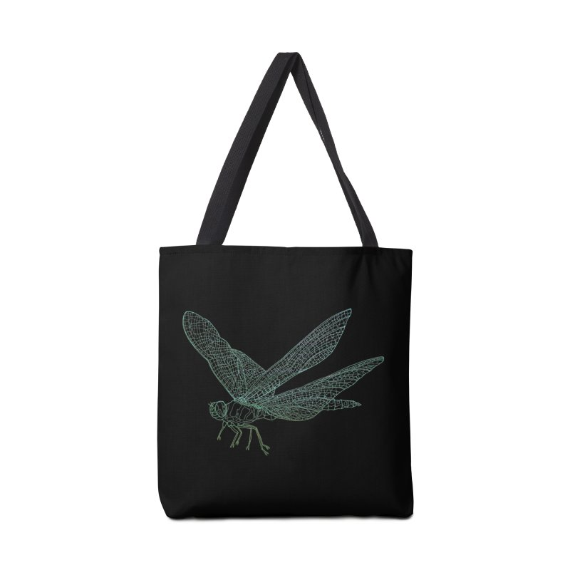 Dragonfly Accessories Bag by David Bushell Illustration-Design Shop