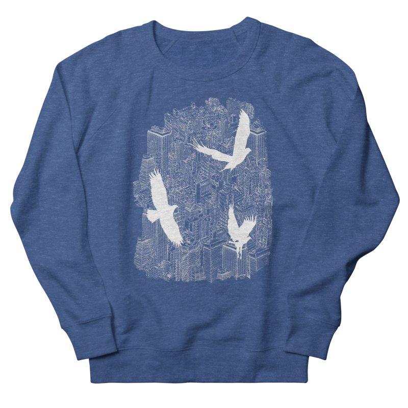 Ecotone (dark tee) Men's Sweatshirt by David Bushell Illustration-Design Shop