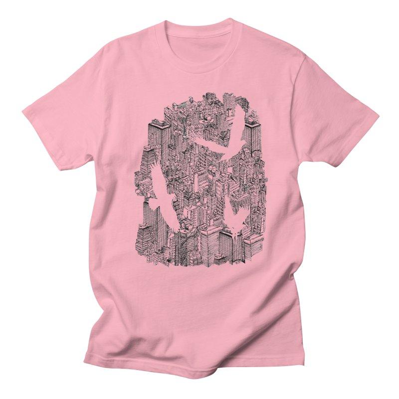 Ecotone Men's T-shirt by David Bushell Illustration-Design Shop