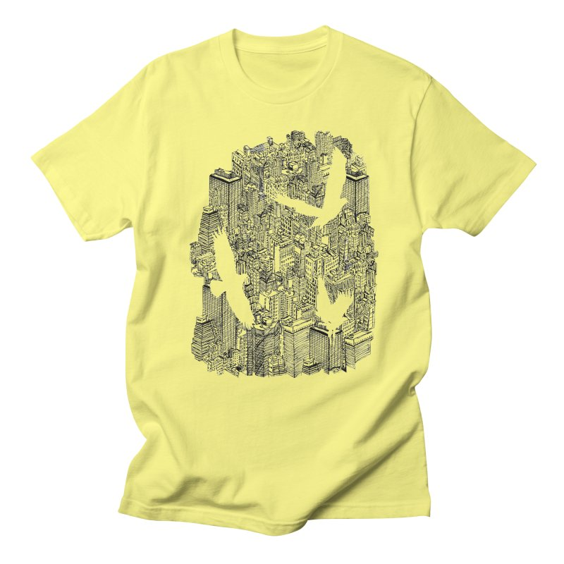 Ecotone Men's T-shirt by David Bushell Illustration-Design Shop