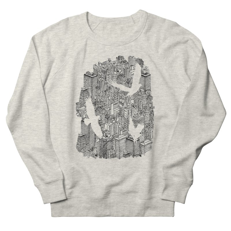 Ecotone Men's Sweatshirt by David Bushell Illustration-Design Shop