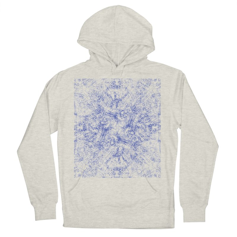 CPU Men's Pullover Hoody by David Bushell Illustration-Design Shop