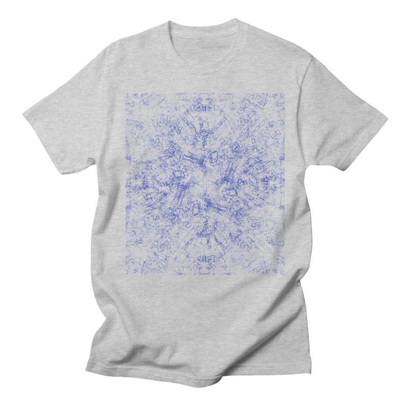 CPU Men's T-shirt by David Bushell Illustration-Design Shop