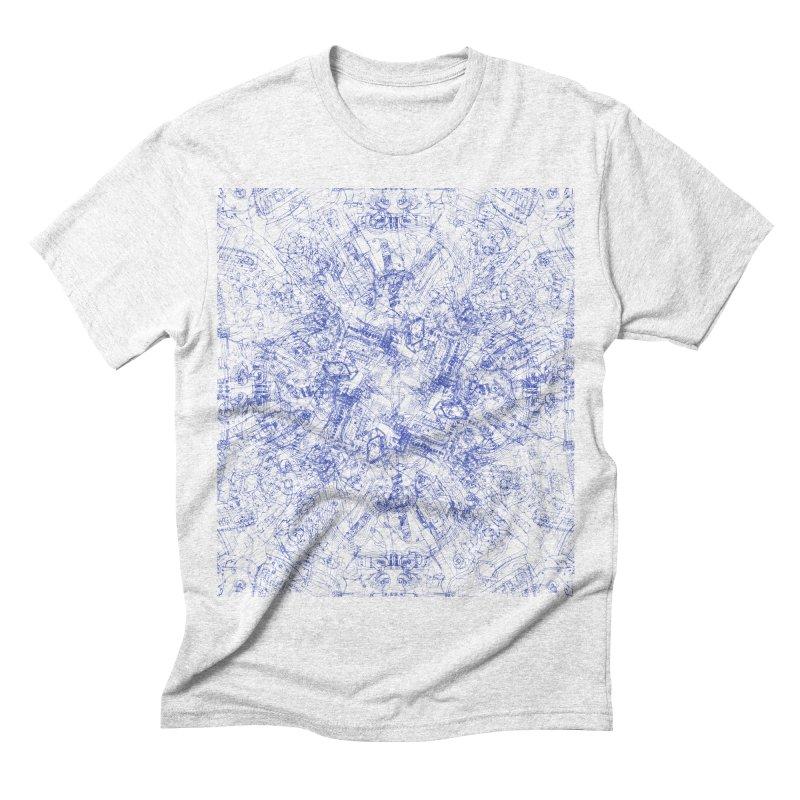 CPU Men's Triblend T-shirt by David Bushell Illustration-Design Shop