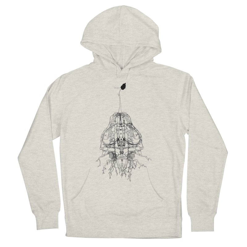 Hope Men's Pullover Hoody by David Bushell Illustration-Design Shop