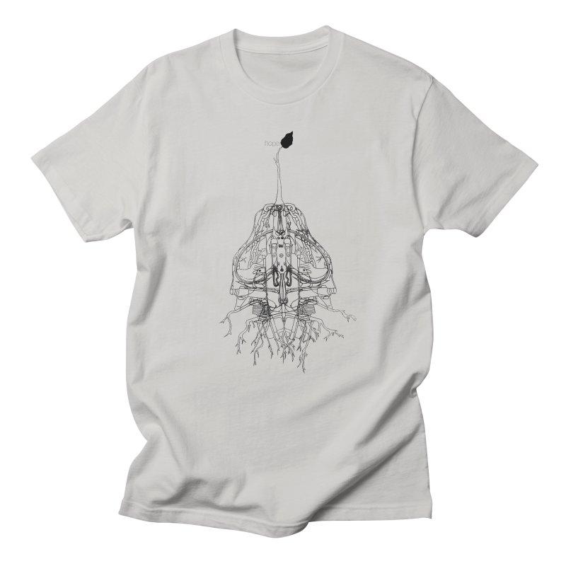 Hope Men's T-shirt by David Bushell Illustration-Design Shop