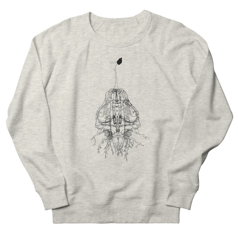 Hope Men's Sweatshirt by David Bushell Illustration-Design Shop