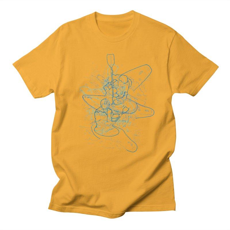 Qayaq Men's T-Shirt by David Bushell Illustration-Design Shop