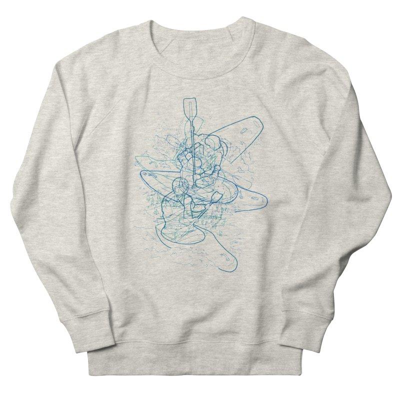 Qayaq Men's Sweatshirt by David Bushell Illustration-Design Shop