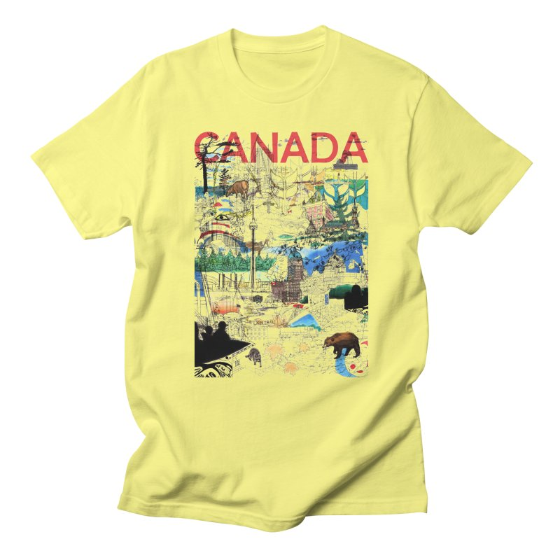 Canada   by David Bushell Illustration-Design Shop