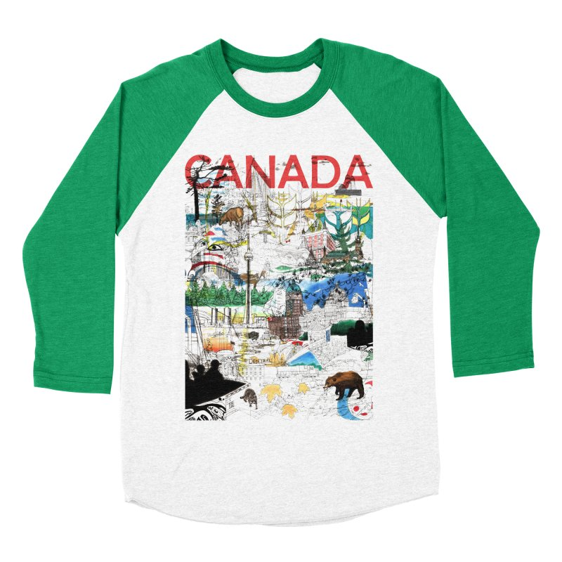 Canada   by David Bushell Illustration-Design Shop