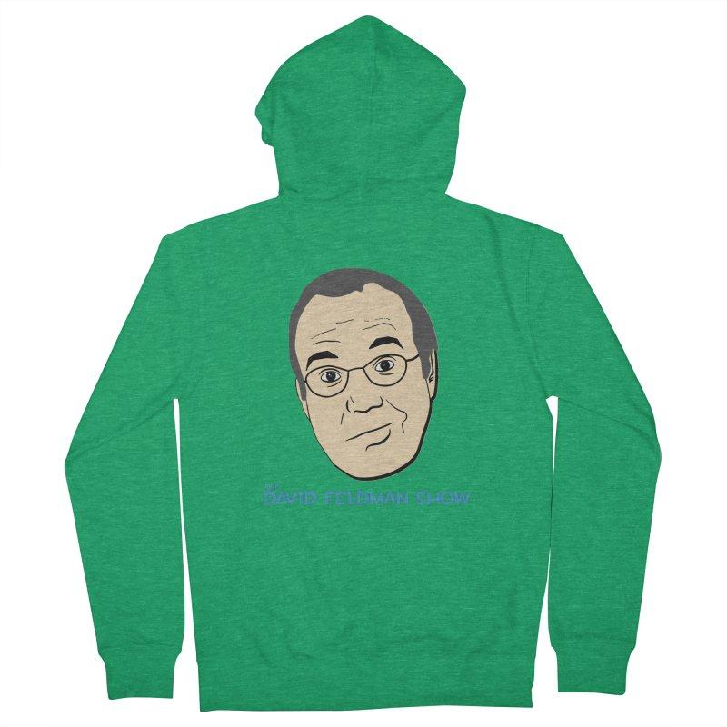 David Feldman Show Official Shirt Men's French Terry Zip-Up Hoody by The David Feldman Show Official Merch Store