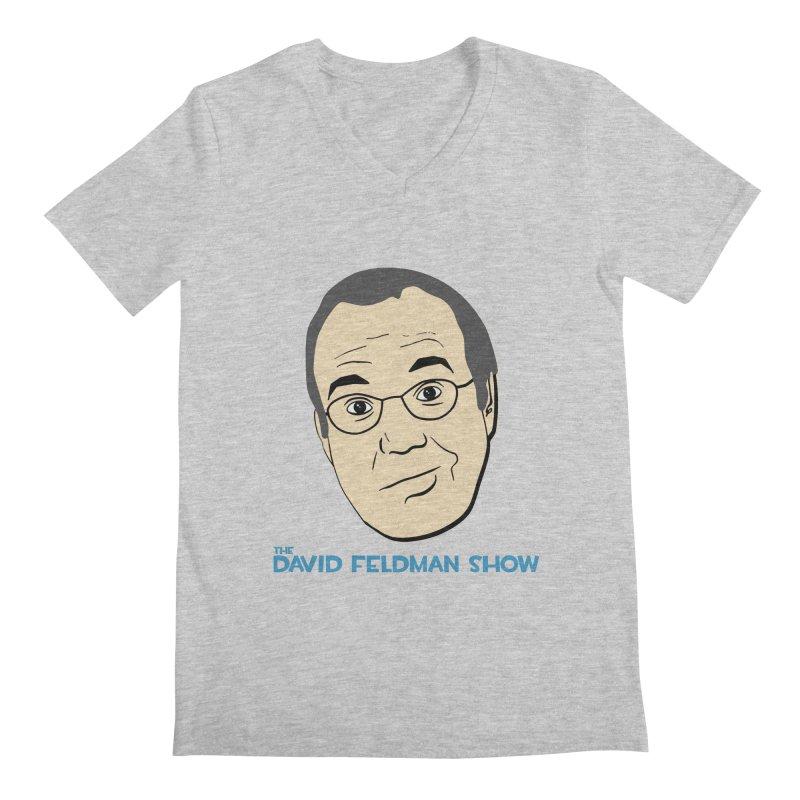David Feldman Show Official Shirt Men's V-Neck by The David Feldman Show Official Merch Store