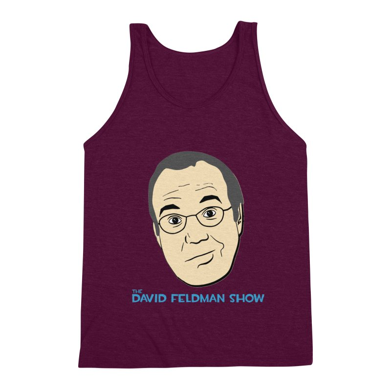David Feldman Show Official Shirt Men's Triblend Tank by The David Feldman Show Official Merch Store