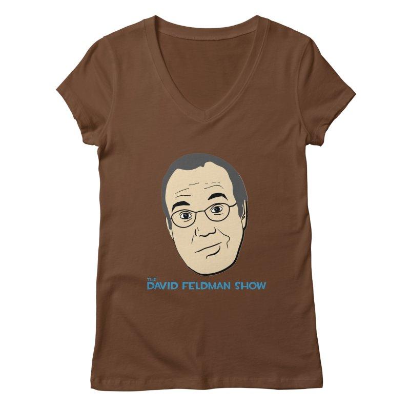 David Feldman Show Official Shirt Women's Regular V-Neck by The David Feldman Show Official Merch Store