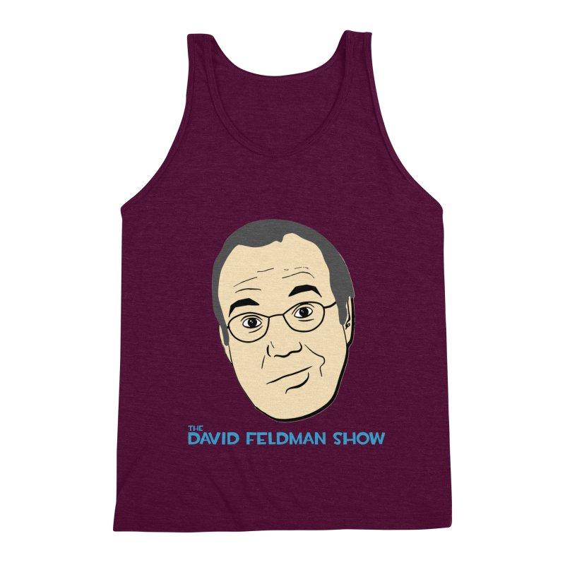 David Feldman Show Official Shirt Men's Triblend Tank by The David Feldman Show Official Merch Store