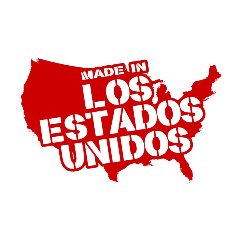 Made In Los Estados Unidos Men's V-Neck by The David Feldman Show Official Merch Store