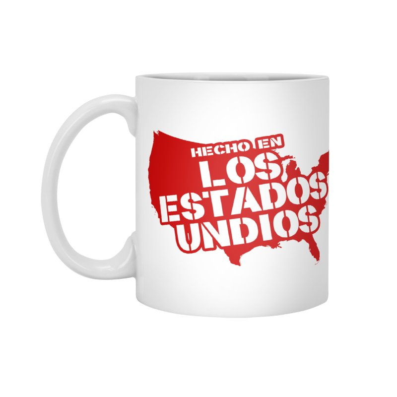 Made In Los Estados Unidos Accessories Mug by The David Feldman Show Official Merch Store