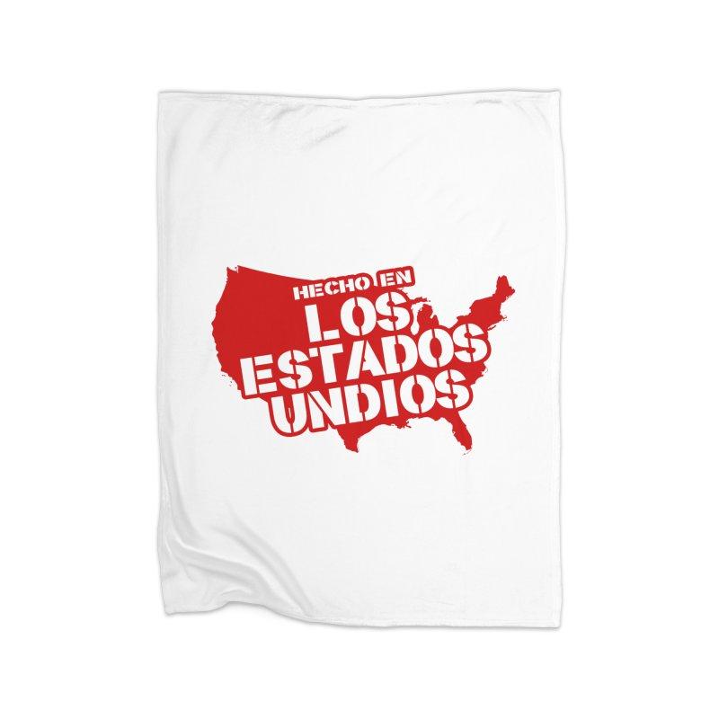 Made In Los Estados Unidos Home Blanket by The David Feldman Show Official Merch Store