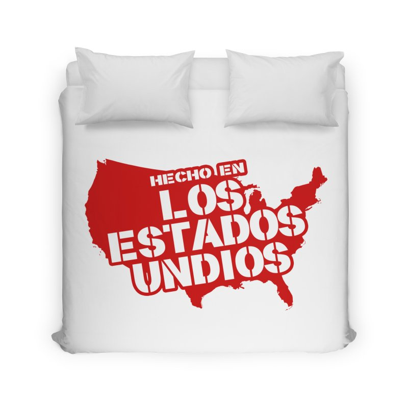 Made In Los Estados Unidos Home Duvet by The David Feldman Show Official Merch Store