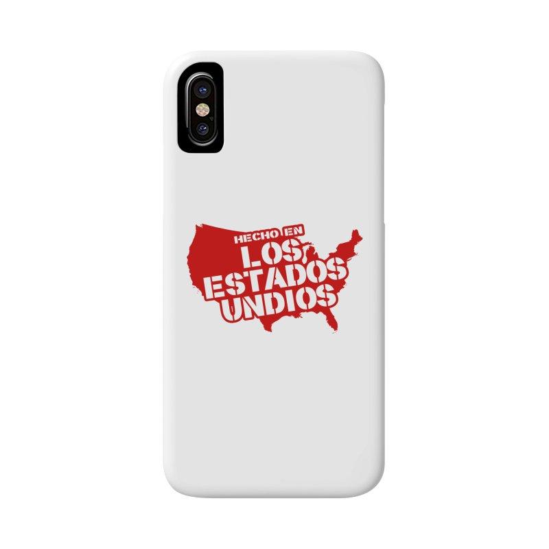 Made In Los Estados Unidos Accessories Phone Case by The David Feldman Show Official Merch Store
