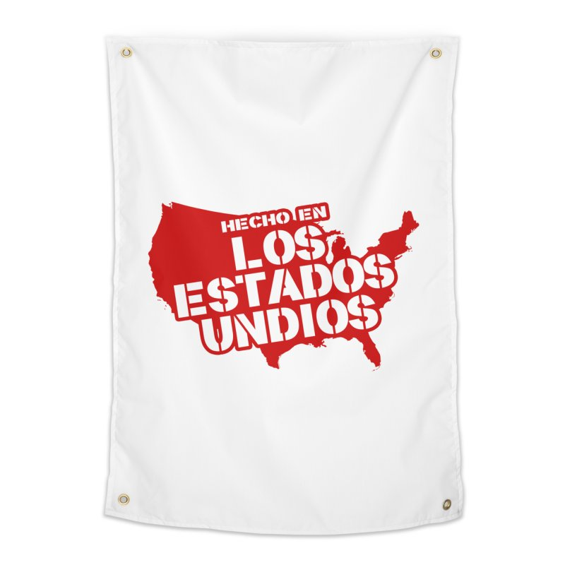 Made In Los Estados Unidos Home Tapestry by The David Feldman Show Official Merch Store