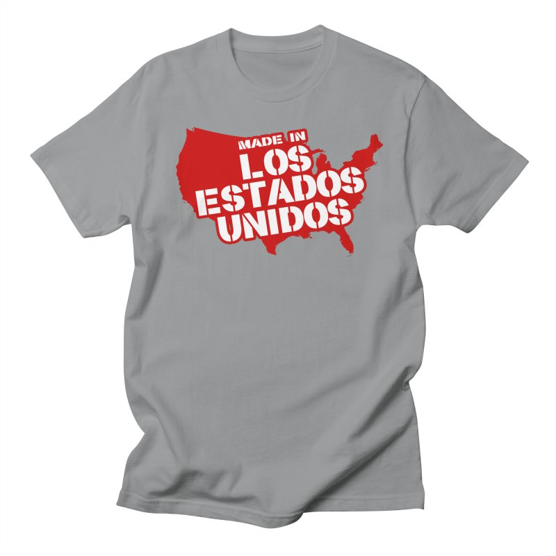 Made In Los Estados Unidos Men's Regular T-Shirt by The David Feldman Show Official Merch Store