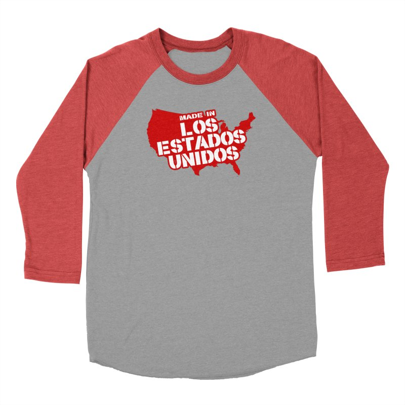 Made In Los Estados Unidos Men's Longsleeve T-Shirt by The David Feldman Show Official Merch Store