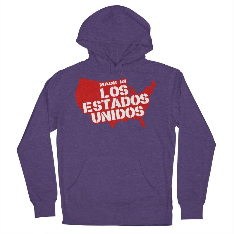 Made In Los Estados Unidos Women's Pullover Hoody by The David Feldman Show Official Merch Store