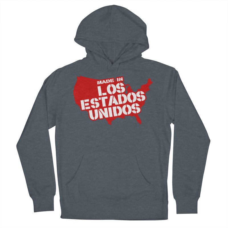 Made In Los Estados Unidos Women's French Terry Pullover Hoody by The David Feldman Show Official Merch Store