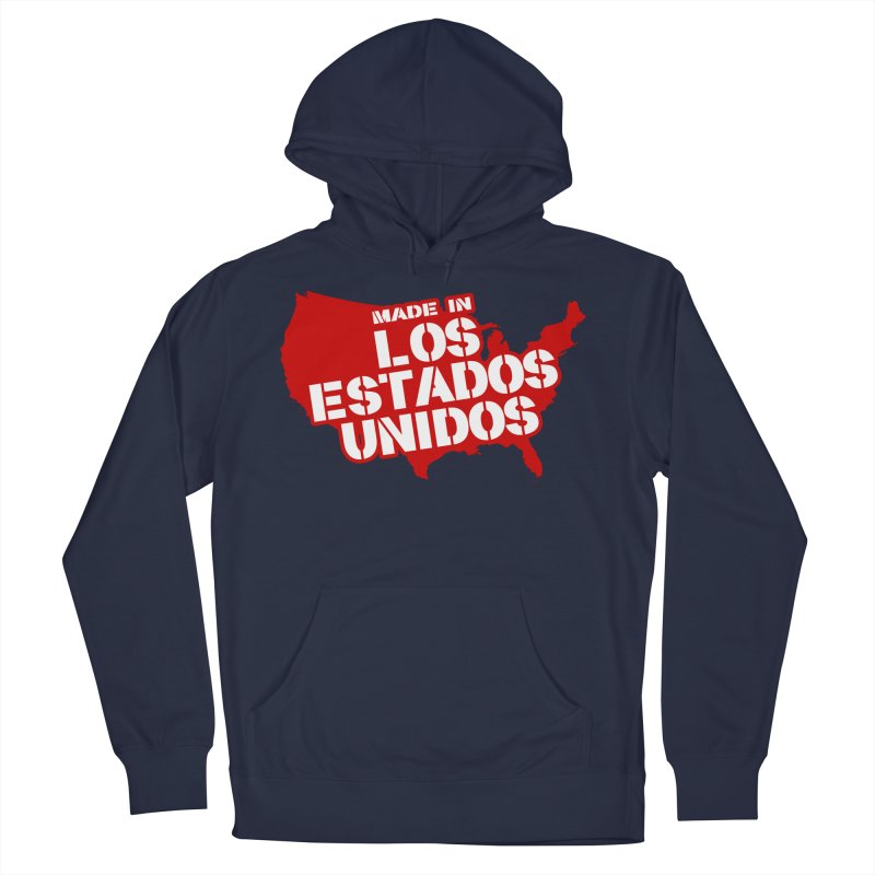 Made In Los Estados Unidos Men's French Terry Pullover Hoody by The David Feldman Show Official Merch Store