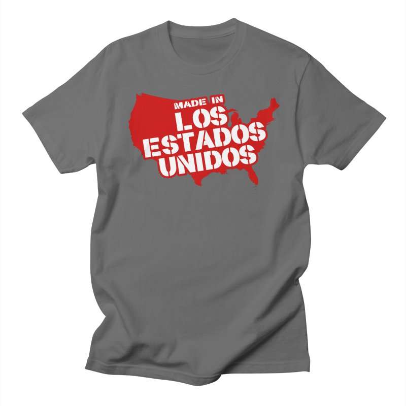 Made In Los Estados Unidos Men's Regular T-Shirt by The David Feldman Show Official Merch Store